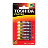 【東芝】鹼性電池4號10入