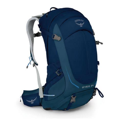 Osprey Stratos 34 登山包.暗夜藍 10000799 S/M