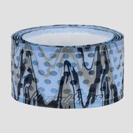 「野球魂中壢店」--「Lizard Skins」蜥蜴皮球棒握把布(藍×灰,厚度=1.1mm)