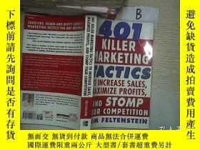 二手書博民逛書店401罕見Killer Marketing Tactics To