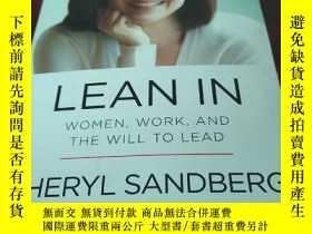 二手書博民逛書店LEAN罕見IN WOMEN, WORK, AND THE WI