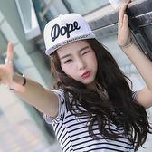 棒球帽 大字母 嘻哈 潮 壓舌帽 遮陽帽 棒球帽【CF003】 BOBI  08/03