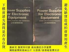 二手書博民逛書店power罕見supplies for electronic equipment 1+2合售 (P1846)Y