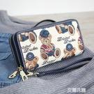 錢包女長款2017新款韓版潮個性拉錬大容量學生女士錢包夾『艾麗花園』