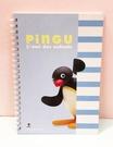 【震撼精品百貨】Pingu_企鵝家族~活頁筆記本#30317
