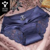 3條盒裝 棉質襠春夏蕾絲性感透明 舒適無痕大碼中腰三角女士內褲DSHY 開學季特惠減88