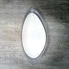 原點居家創意家用陶瓷餐具鹅卵石淺盤纯色 38cm 三色任選