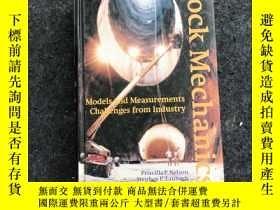 二手書博民逛書店Rock罕見Mechanics:Medels and Measurements Challenges from I