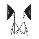 攝影棚 LED 柔光箱攝影燈套裝 簡易微型小型攝影棚