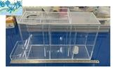 {台中水族} MIT   壓克力 乾濕分離過濾槽-2尺  特賣 限自取 結合底部過濾方式