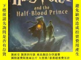 二手書博民逛書店harry罕見potter and the half-blood