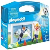摩比人playmobil 5654 足球遊戲