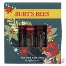 【彤彤小舖】Burt s Bees 蜜蜂爺爺 塗鴉彩色唇膏 歡樂三件組 4.25g *3 酒紅 紅豆沙 玫瑰 3件裝