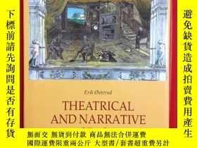 二手書博民逛書店Theatrical罕見and Narrative Space:
