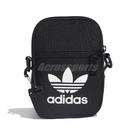 adidas 側背包 Trefoil Festival Bag 黑 白 男女款 隨身包 手機包 【PUMP306】 EI7411