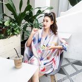 歐美時尚圍巾披肩空調房韓版百搭絲巾長款消費滿一千現折一百