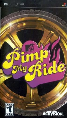 PSP Pimp My Ride 嘻哈飆車族(美版代購)