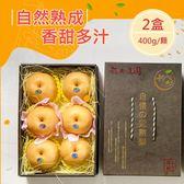 送禮首選!!台中新社高接梨精品禮盒2盒(每盒400g/粒x6粒)(免運宅配)