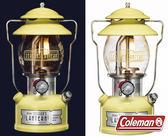 Coleman 2018日本紀念款氣化燈 檸檬黃 CM-32845 汽化燈 露營燈 登山 限量販售 公司貨
