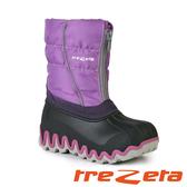 【義大利 TREZETA】 女 中筒防潑水 保暖雪鞋 薰衣草16456 雪靴 (內厚鋪毛/ 防滑鞋底) 保暖 抗寒
