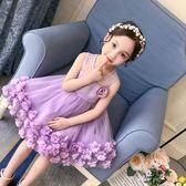 花童禮服夏裝新款童裝兒童夏季洋氣禮服 JD2319【KIKIKOKO】
