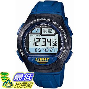 [東京直購] CASIO 卡西歐 SPORTS GEAR 運動錶 W-734J-2AJF 防水10Bar 藍色