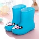 雨靴兒童中筒夏季天然橡膠男女童防水防滑雨鞋鞋輕便柔 洛小仙女鞋