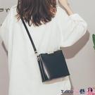 熱賣斜背包 高級感法國小眾洋氣水桶包包女包2021新款潮時尚簡約百搭斜背包女 coco