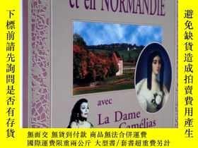 二手書博民逛書店茶花女軼事罕見法文原版 銅版紙 多圖Promenades a Paris et en Normandie avec