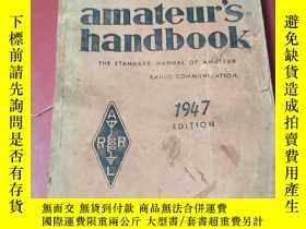 二手書博民逛書店1947年《the罕見radio amateur s handb