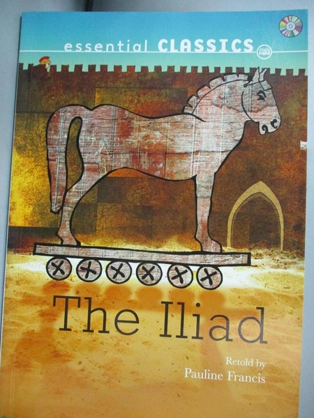 【書寶二手書T8/語言學習_MET】Evans reading-The Iliad_附光碟_Pauline Francis