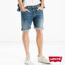 Levis 男款 501經典排釦牛仔短褲...