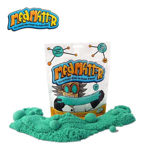 《 瑞典 Mad Mattr 》瘋狂博士MM沙 - 湖水綠 / JOYBUS玩具百貨