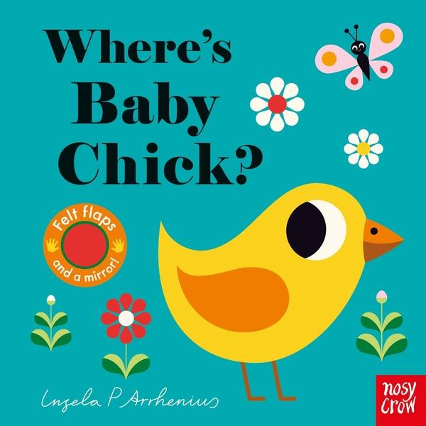 Where's Baby Chick? 小雞在哪裡呢? 不織布翻翻書