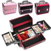 化妝箱 紋繡工具箱專業手提美容美甲美睫多層大容量化妝箱紋眉師專用箱子