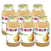 HiPP 喜寶 生機西洋梨汁200ml(6罐)[衛立兒生活館]