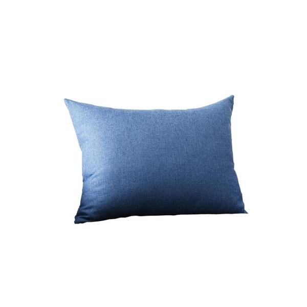 亞麻靠枕沙發客廳長方形抱枕靠墊套腰枕大號靠背抱枕套不含芯定制 樂活生活館