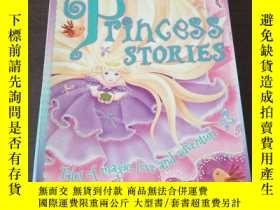 二手書博民逛書店Big罕見Book of Princess Stories-4 Classic Stories including
