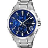【僾瑪精品】CASIO OCEANUS 躍動時尚湛藍 鈦金屬GPS電波錶-46.1mm/OCW-G2000-2A