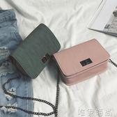 側背包 簡單媽媽包少女容量側背包夏款年旅行韓版綠色斜挎包女校園 唯伊時尚