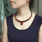 鎖骨錬頸帶女勁錬民族風項錬飾品