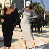 氣質套裝 吊帶中長款裙連帽純棉開衫兩件套