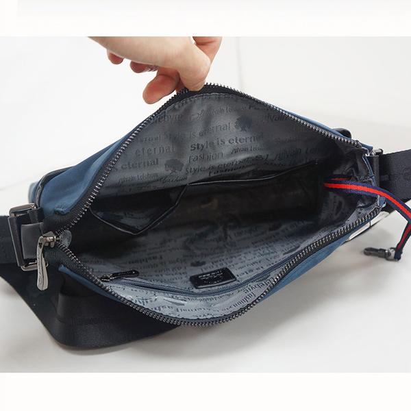 【Sylvain Lefebvre希梵】完美主義系列-實用完美收納防潑水側背包 公事包 男包