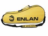 英聯牌1258/1298羽毛球包球拍包單層3只裝拍包帶側袋/單肩背