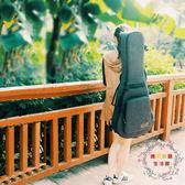 吉他包36寸38/39寸40/41寸民謠古典吉他袋加厚後背吉他背包袋防水 XW