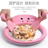 迷你炒冰機家用小型炒酸奶機兒童自制DIY水果冰淇淋雪糕機炒冰盤 WD初語生活館