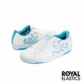 Royal Elastics Hydra 經典運動鞋-白x水藍x銀