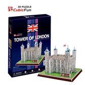 交換禮物 兒童禮物 DIY拼圖3D  英國倫敦塔C715H【森彩】文具e指通