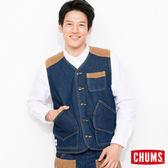 CHUMS 日本 男 職人工作風格背心 印地哥 CH041046N030
