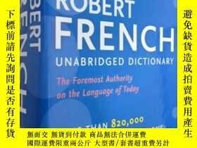 二手書博民逛書店Collins罕見Robert French Unabridged Dictionary,9thEdition 柯